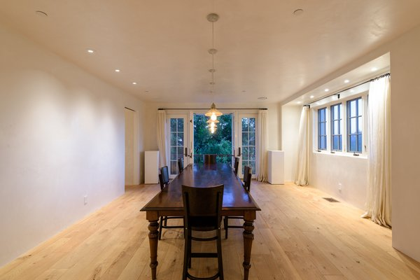 The spacious home includes multiple living and entertaining areas. A large formal dining room sits just off the kitchen.
