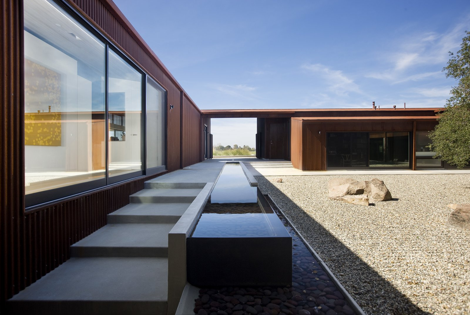 Santa Ynez Residence Frederick Fisher and Partners outdoor