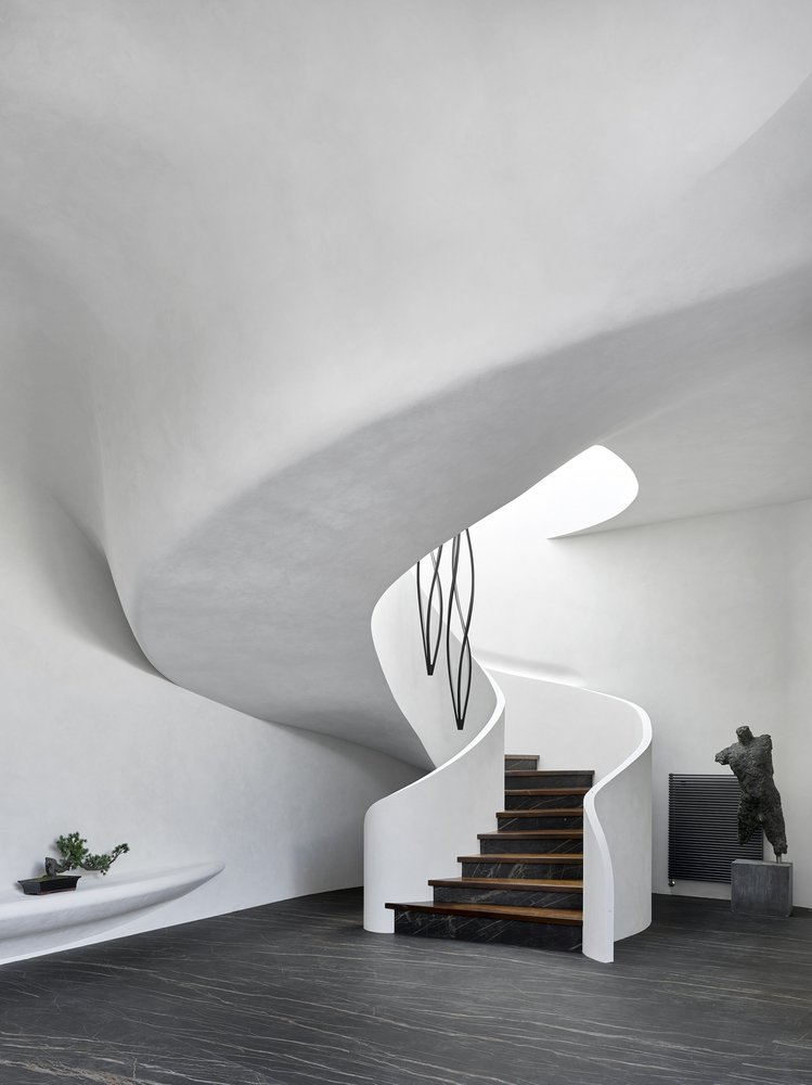 House in the Landscape staircase