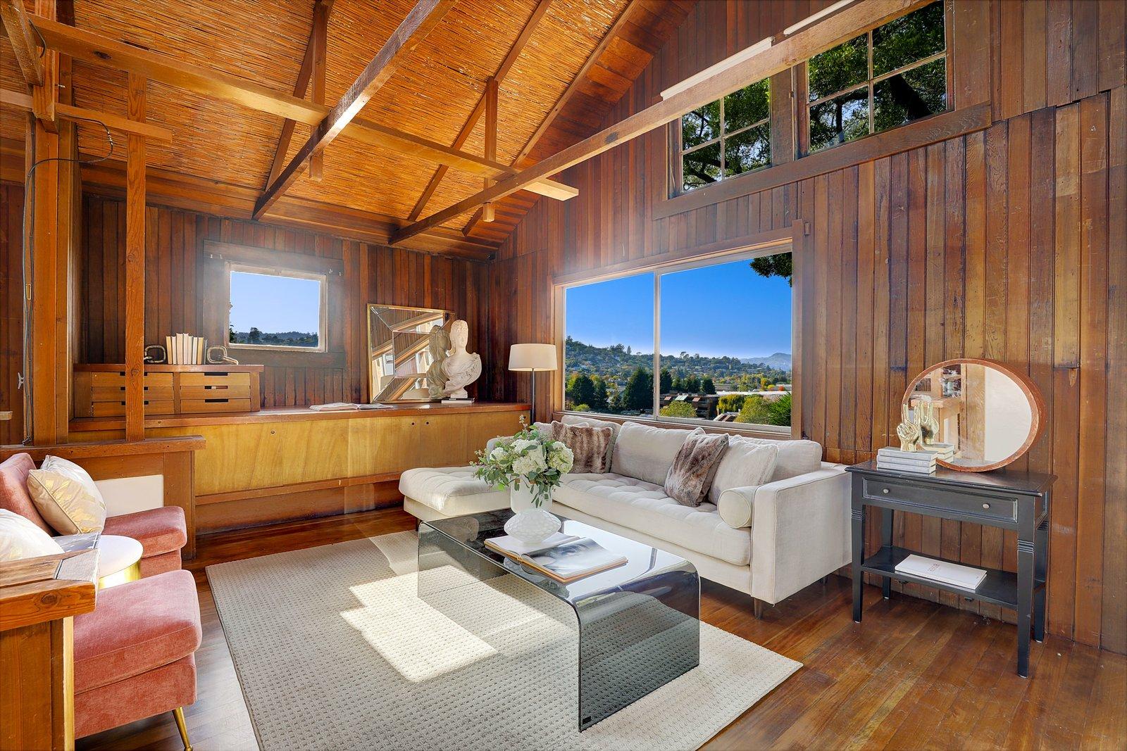 Red Barn Charles Warren Callister living room