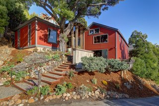 "Northern Pacific Railroad's Iconic ""Red Barn"" in Tiburon Seeks $2.48M"