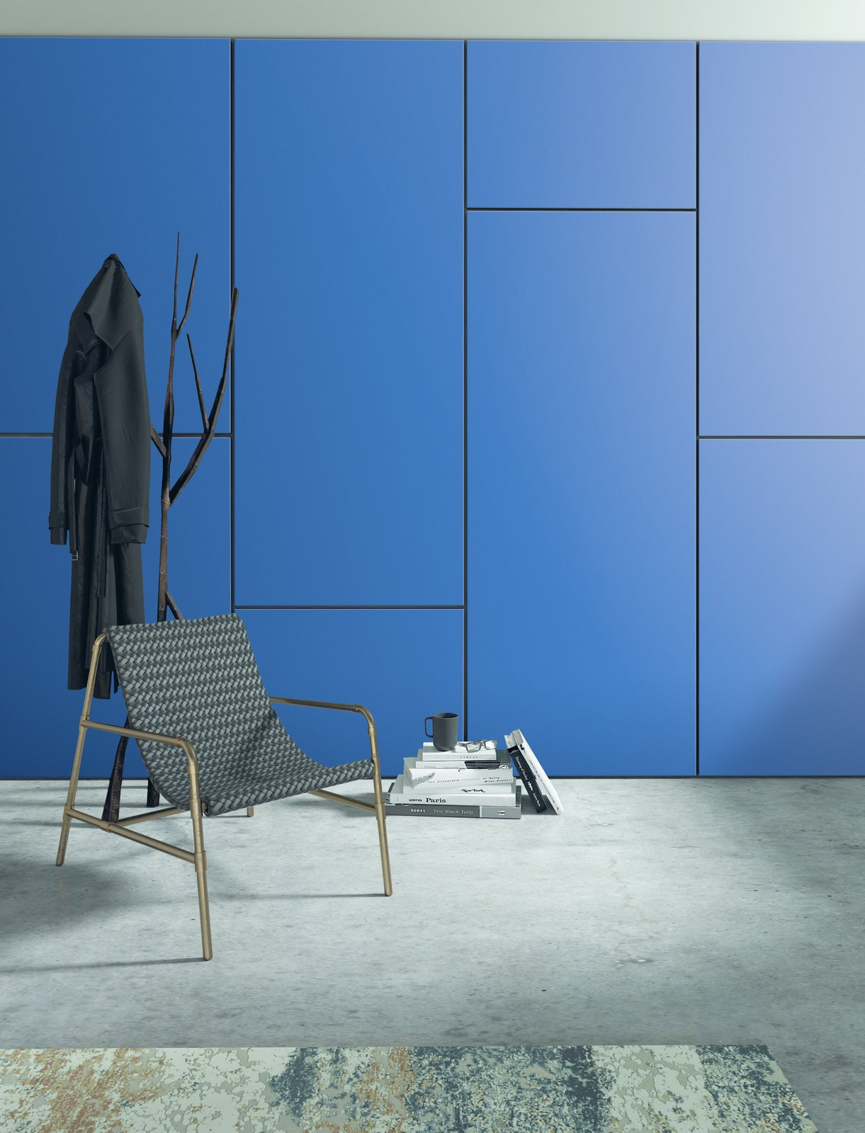 Formica laminate in 914 Marine Blue.  Photo 2 of 7 in Trend Report: Colors of 2020