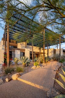 The Ramada House in Tucson, Arizona, is one of Chafee's most recognized designs. In 1983, she became the first woman from Arizona to be named a fellow at the American Institute of Architects.