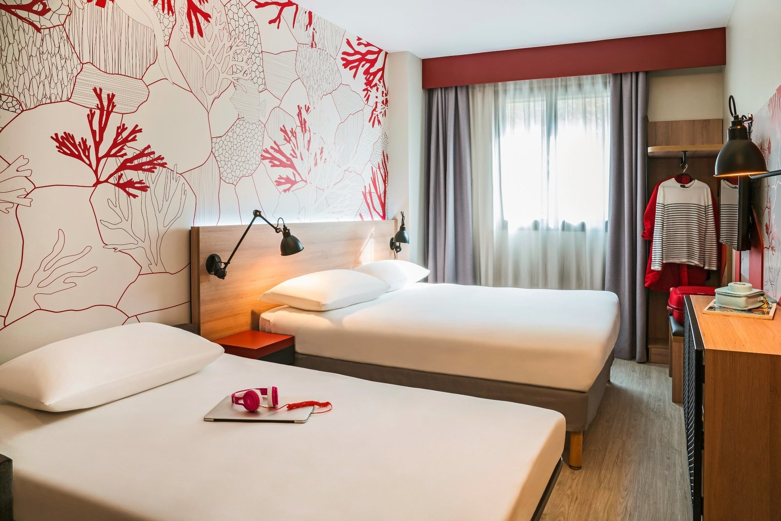 The ibis Styles Barcelona City hotel is designed so that you can enjoy an outstanding experience in the heart of Barcelona. Find yourself in an environment inspired by the Mediterranean.  Photo 9 of 16 in 16 Places to Stay in Barcelona for Less Than $100 a Night