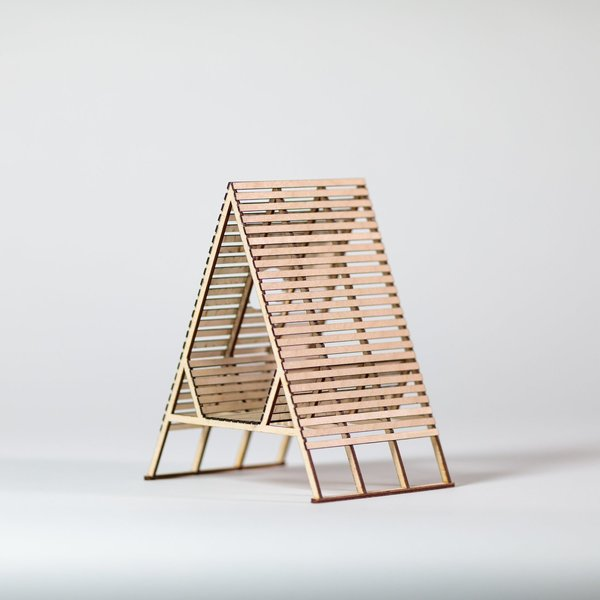 Sitting Structure #8 model
