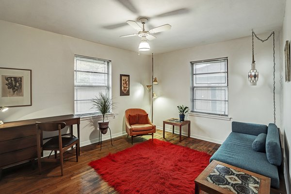 The home also includes a home office, which can easily be converted into another bedroom.