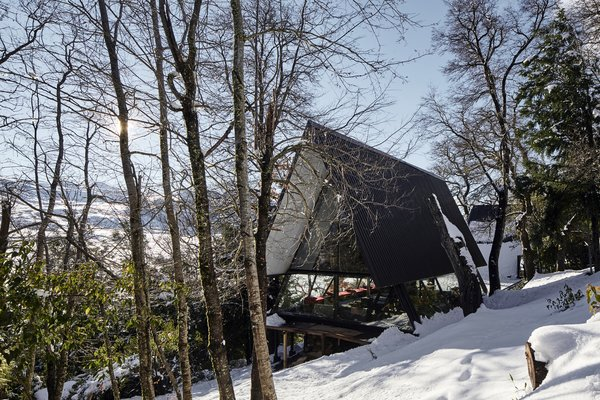 With an off-the-grid house on a remote mountain, architect Smiljan Radić rebuilds the past.
