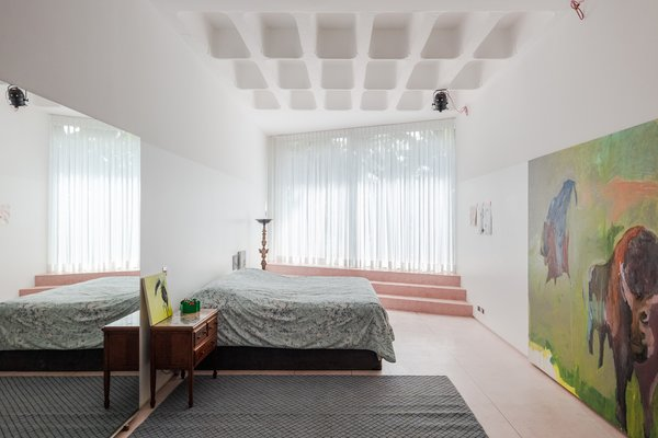 One of the home's spacious bedrooms.