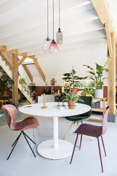 """""""We decided to put our money into the construction and to source our interior from wherever we found things we liked,"""" says Ayla."""
