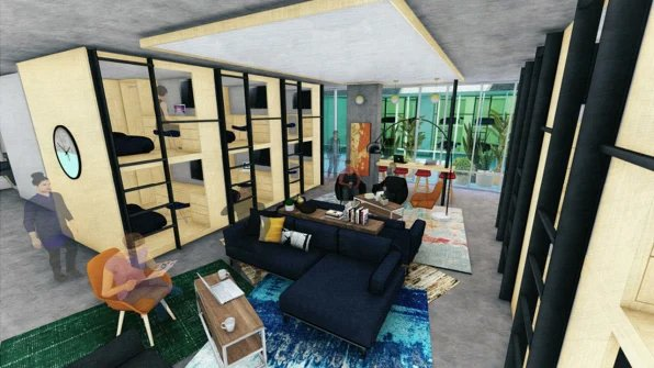 Each pod comes with access to shared living areas, bathrooms, and kitchens. The proposed development continues a trend toward bunk-style living arrangements that have become commonplace in San Francisco.