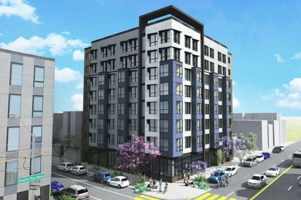 Elsey Partners purchased two lots across the street from each other at the intersection of South Van Ness and 15th Street.