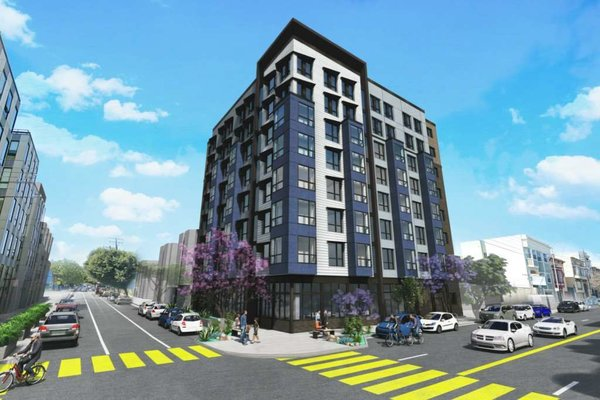 Above ground, each building will feature 200-square-foot apartments that are expected to rent for anywhere from $2,000 to $2,375 per month.