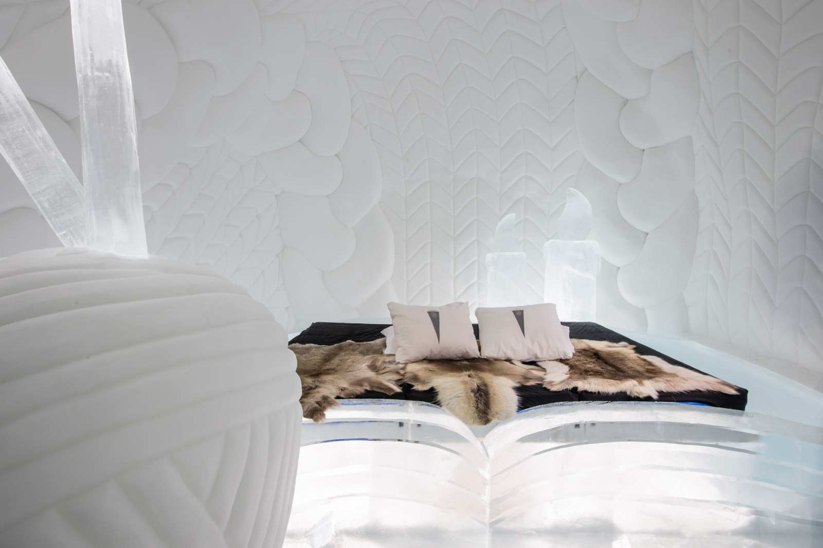 Sweden's Icehotel Celebrates its 30th Year With 15 Glittering New Art Suites