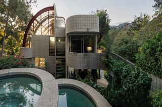 An Imposing Concrete, Glass, and Steel Home by Ray Kappe Lists for $5.5M