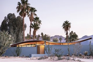 Before & After: This Historic Midcentury With a Slinky Roofline Debuts at Modernism Week 2020