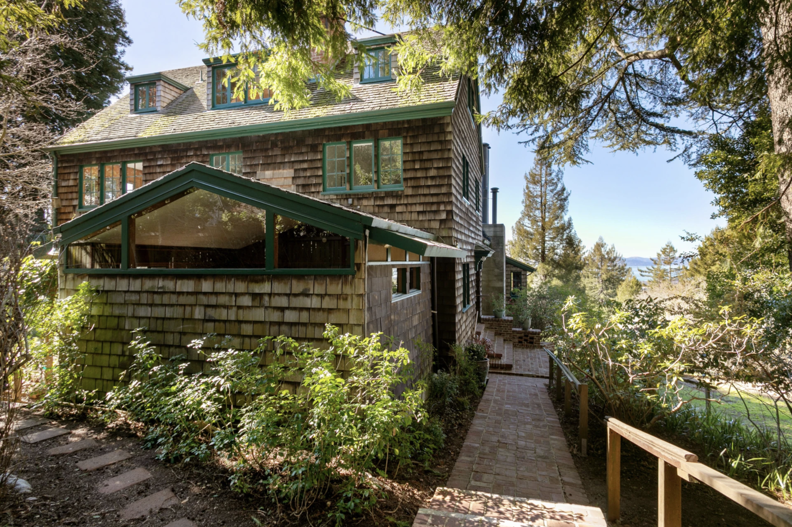 Photo 1 Of 12 In A Berkeley Hills Arts And Crafts Home Hits The Market For The First Time In 60 Years Dwell