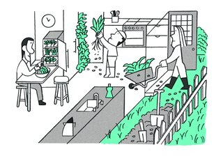 Are High-Tech Tabletop Farms the Future of Food?
