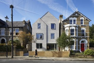 A Bare-Bones Brick Home in London Has Its Breakthrough Moment