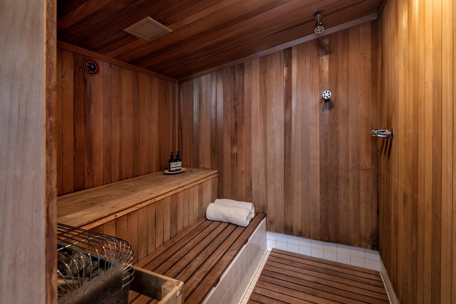 Franks House sauna