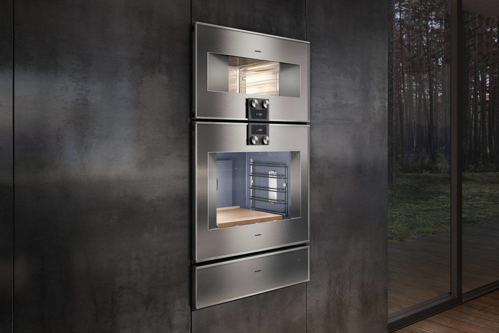 Gaggenau Combi-Steam Oven 400 Series  Photo 2 of 10 in Trend Report: The Internet Settles Into Our Appliances