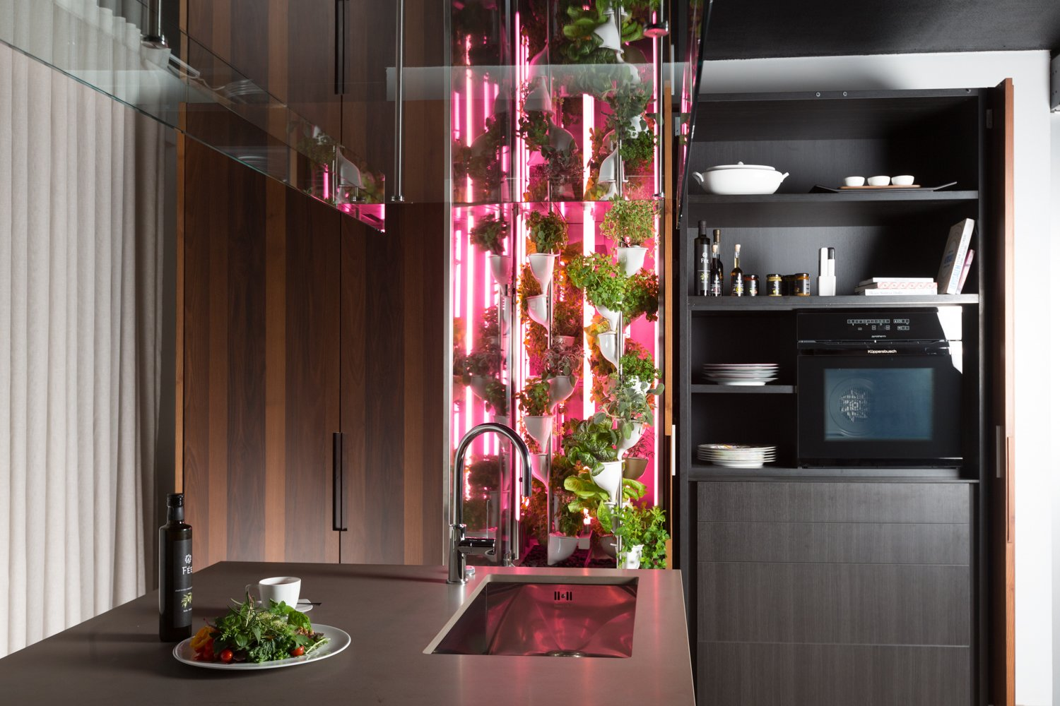 Natufia Hydroponic Kitchen Garden  Photo 5 of 10 in Trend Report: The Internet Settles Into Our Appliances