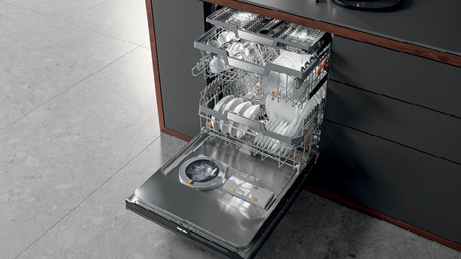 Miele G7000 dishwasher.  Photo 7 of 10 in Trend Report: The Internet Settles Into Our Appliances