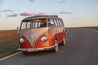 Volkswagen Just Unveiled an Uber Nostalgic All-Electric Microbus