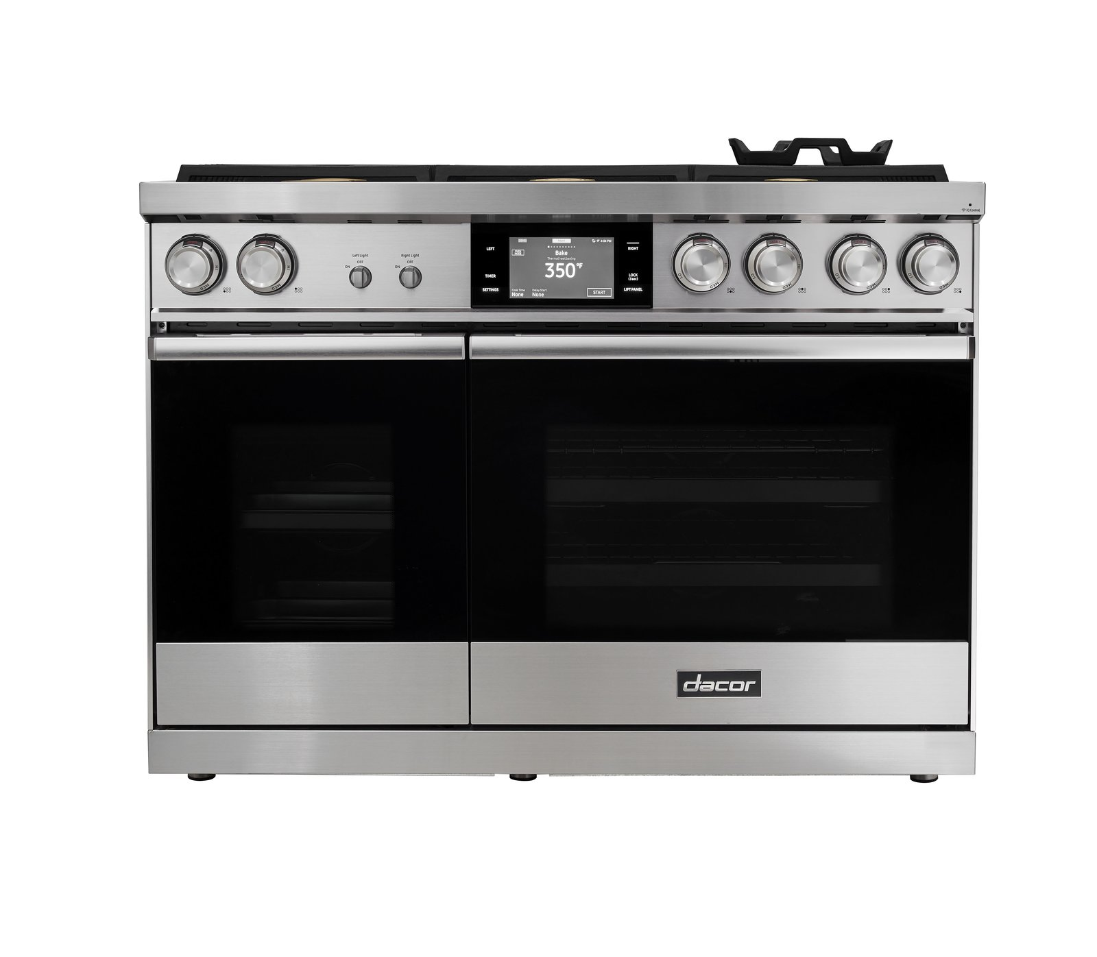 Dacor 48-inch Pro Dual Fuel Steam Range.  Photo 3 of 10 in Trend Report: The Internet Settles Into Our Appliances