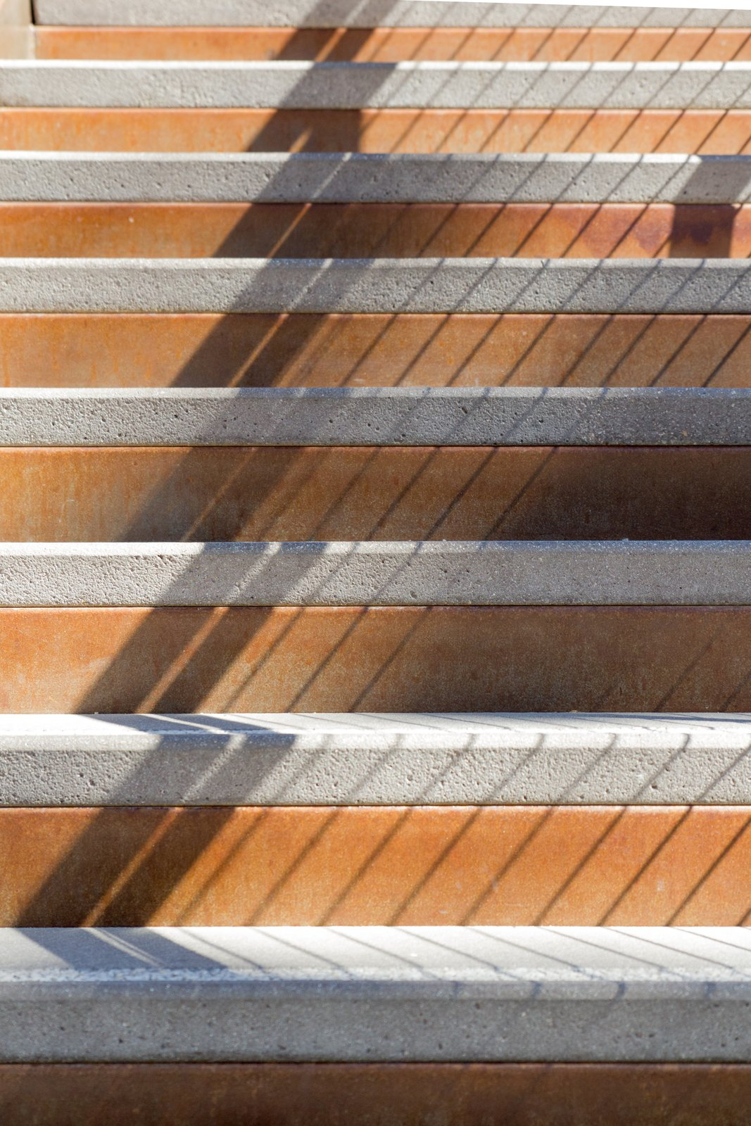 Photo 4 Of 7 In Precast Concrete Stair Treads Transform A Hip Outdoor Workspace In L A Dwell