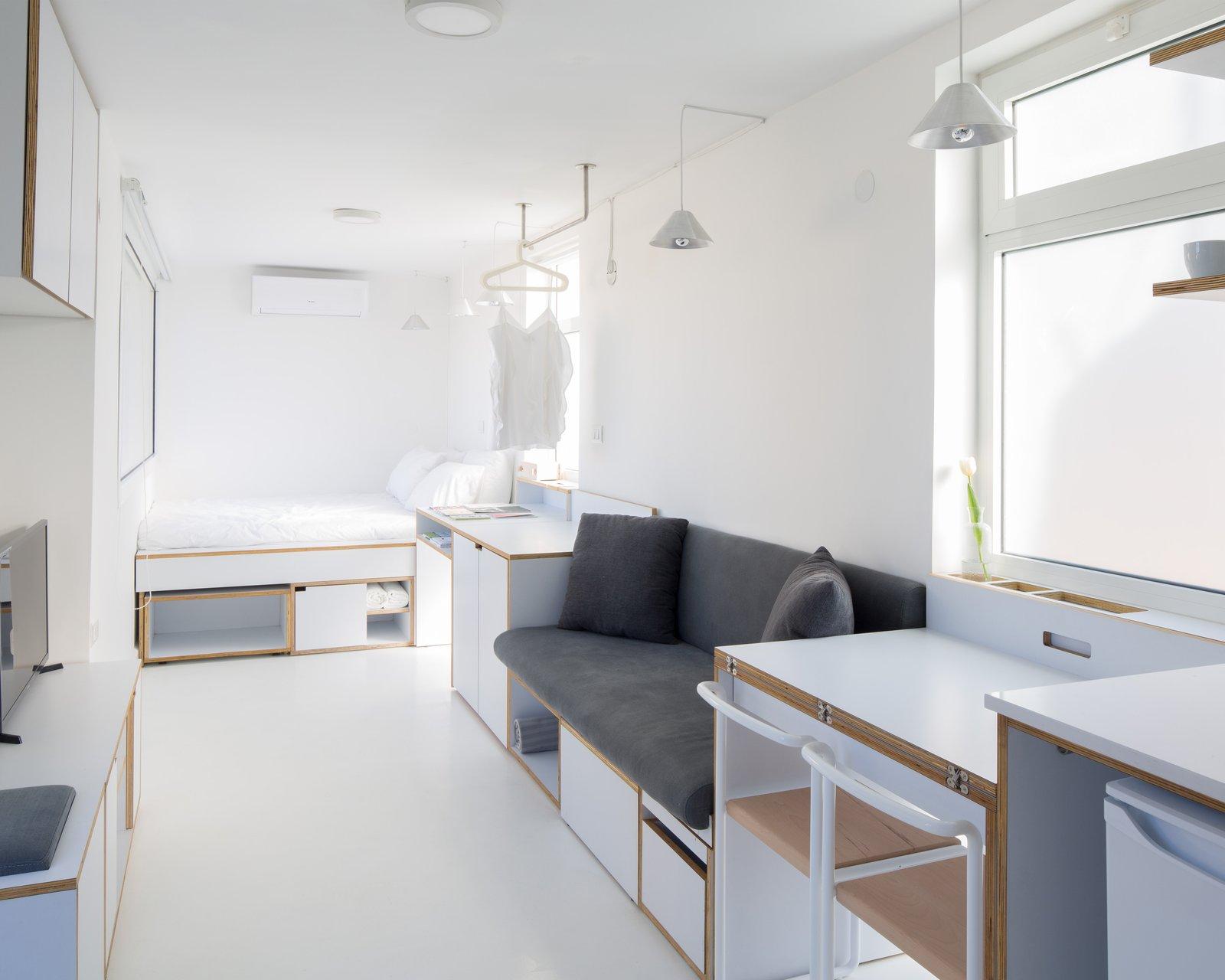 The Shoebox Elie Meni bedroom