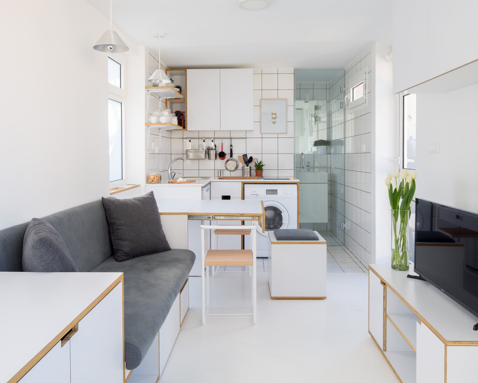 The Shoebox Elie Meni living room