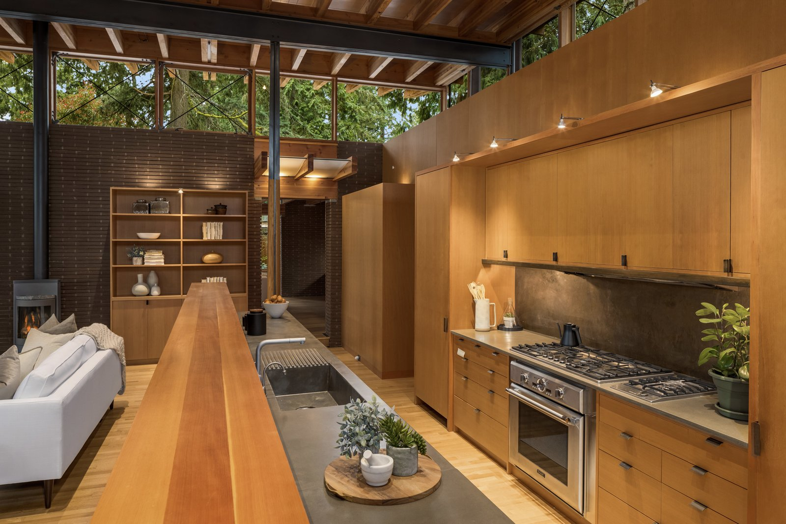 Beaux Arts Residence Cutler Architects kitchen