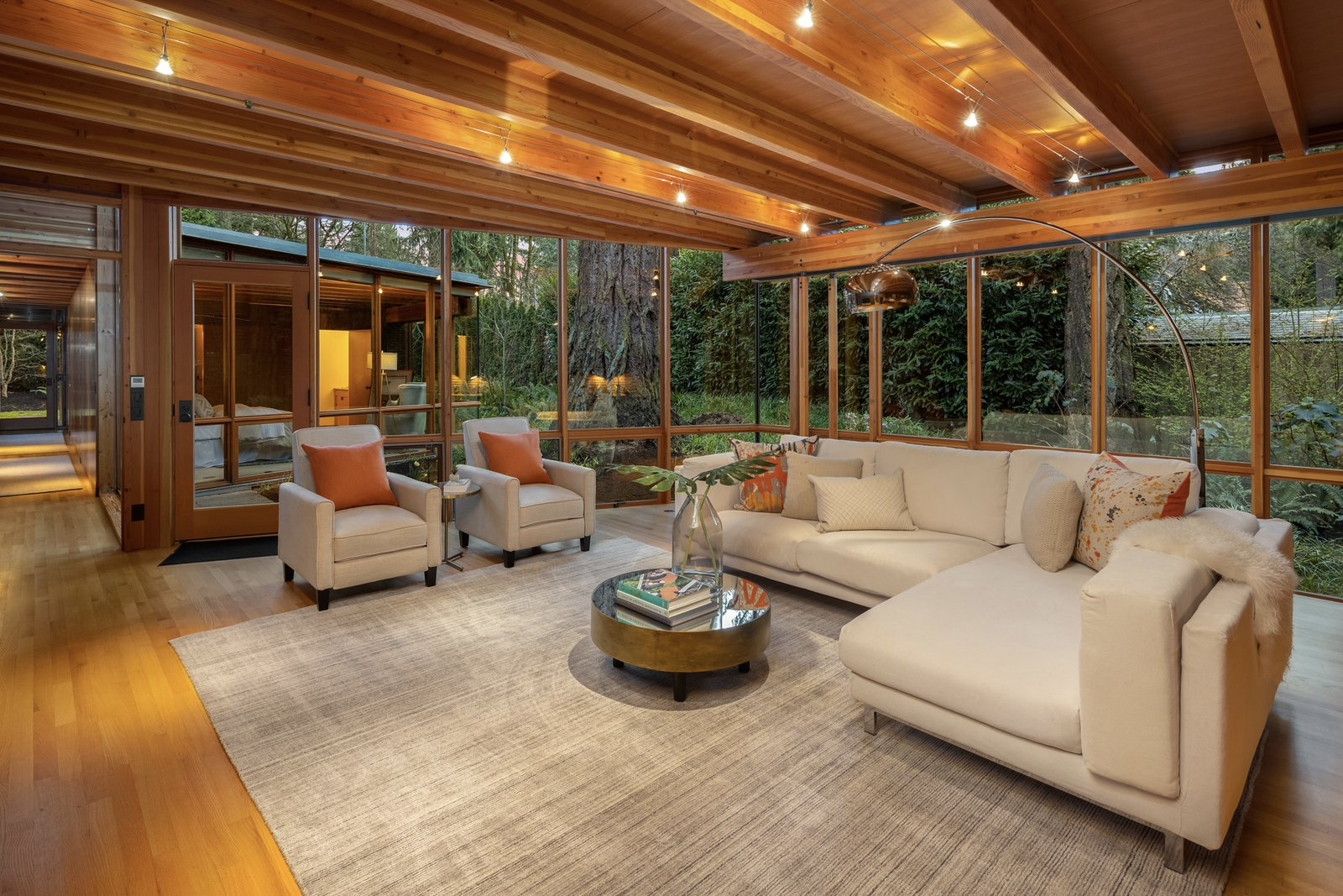 Beaux Arts Residence Cutler Architects living room