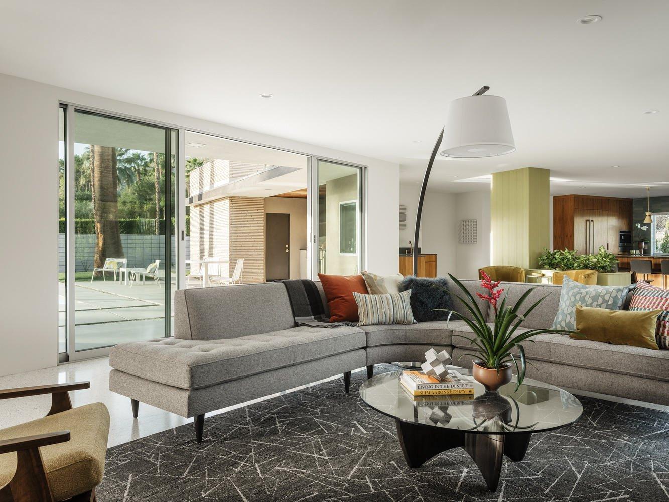 Gillman Residence Herbert W Burns Thomboy Properties living room