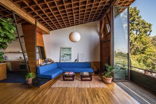 You Can Rent Architect A. Quincy Jones's Incredibly Charismatic Home and Studio in L.A.