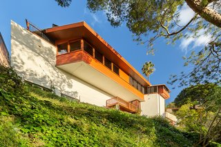 The Only Home John Lautner Ever Built for Himself Is Listed for the First Time in Decades
