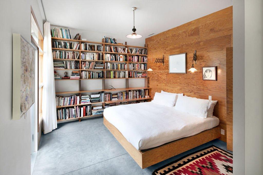 Liza Lou Topanga art compound bedroom