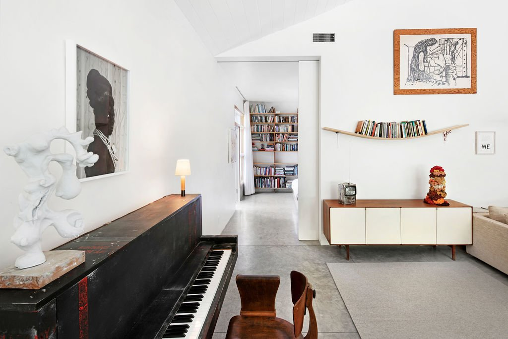 Liza Lou Topanga art compound living