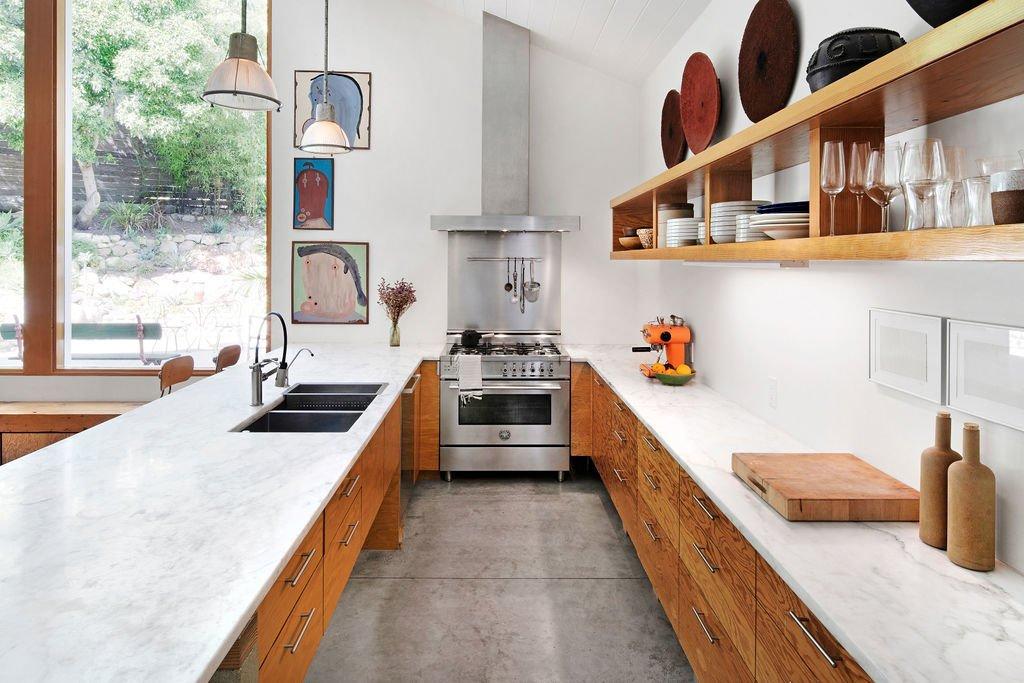 Liza Lou Topanga art compound kitchen