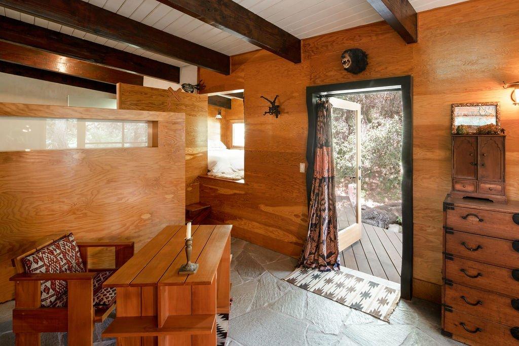 Liza Lou Topanga art compound cabin
