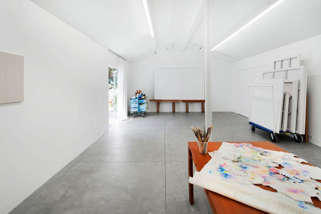 Liza Lou Topanga art compound art studio