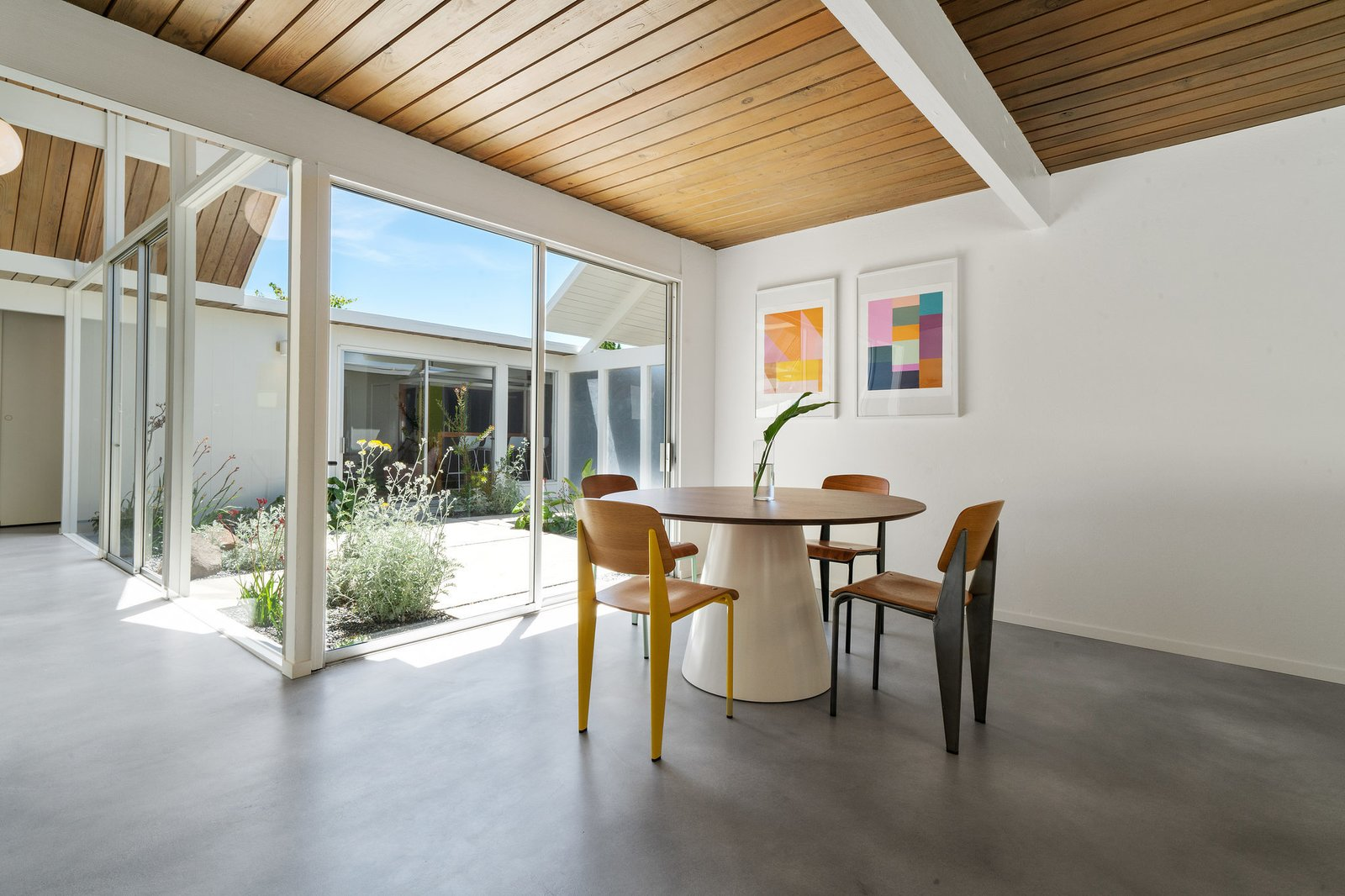 """""""Renovating the inside of the house was a little easier because the original layout is just so wonderful,  Photo 15 of 22 in Before & After: Another A. Quincy Jones Eichler Is Returned to its Former Glory in Oakland"""