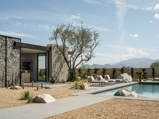 A Striking Desert Contemporary in Rancho Mirage Seeks its First Owner