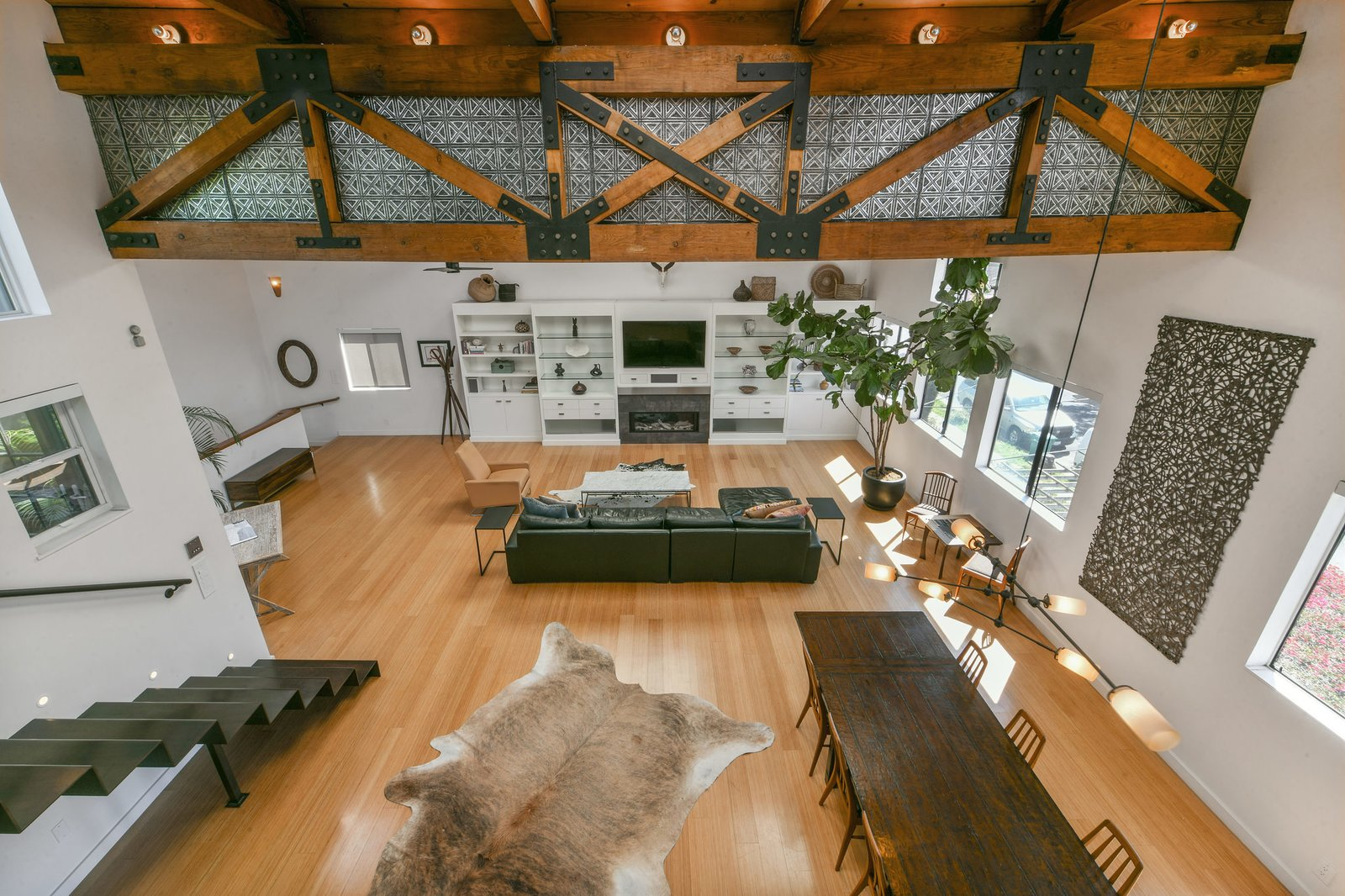 South Prescott Village loft living area