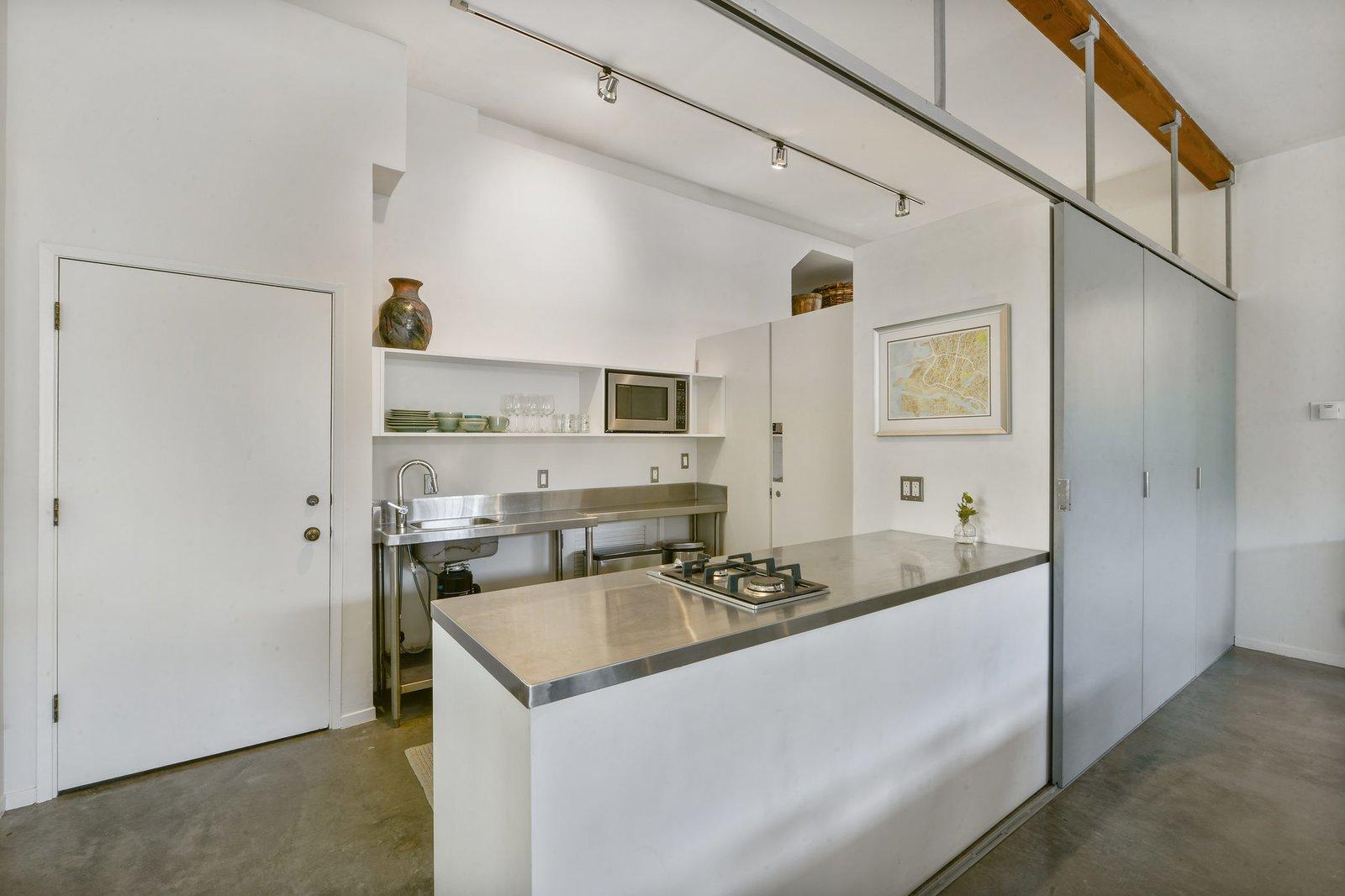 South Prescott Village loft kitchen