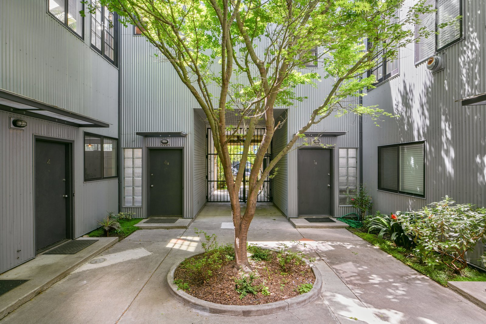 South Prescott Village loft courtyard