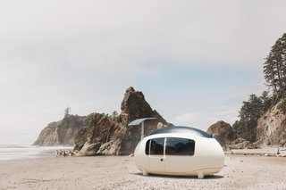 This New Egg-Shaped Prefab Can Pop Up Almost Anywhere for $56K