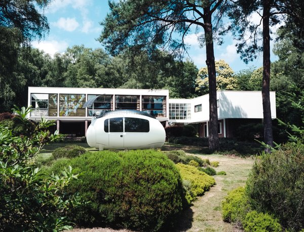 SPACE can serve as an accessory dwelling unit, a backyard office, or a guest room when situated near a home.