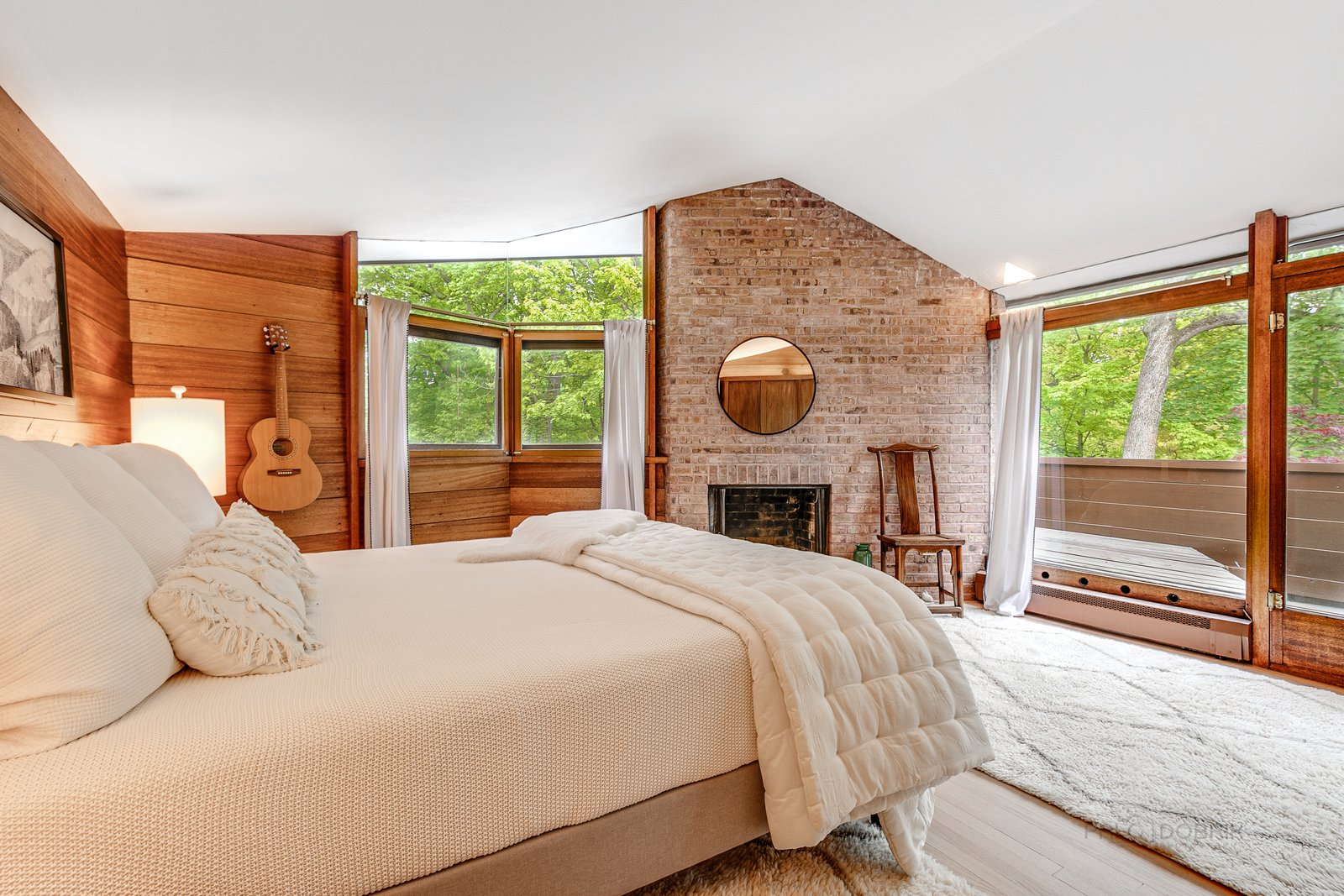 Charles F. Glore House bedroom