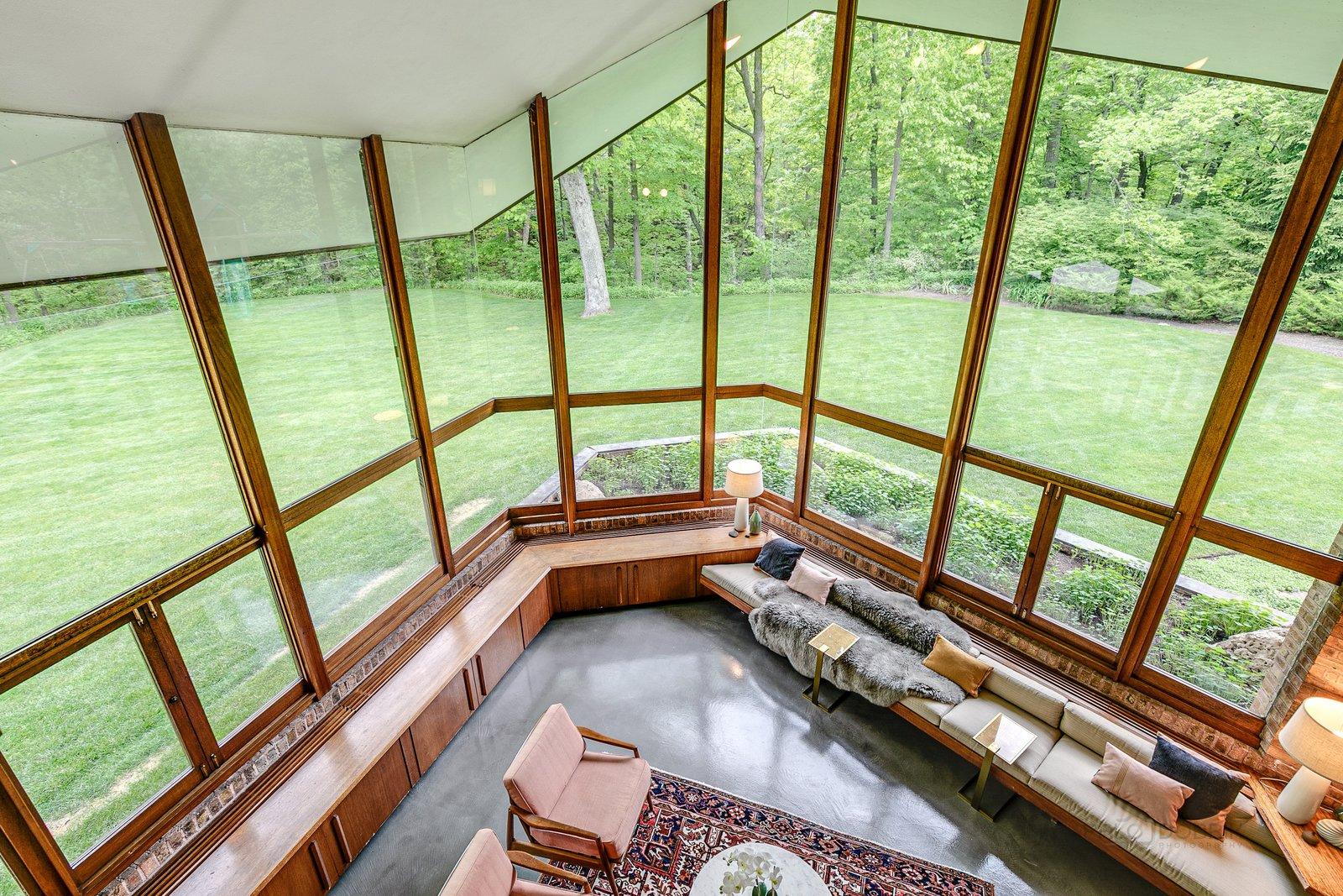 Charles F. Glore House living room